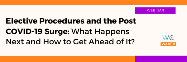 Elective Procedures and the Post COVID-19 Surge: What Happens Next and How to Get Ahead of It?
